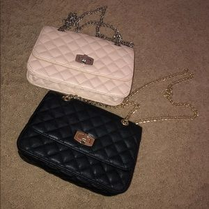 Handbags - 2 shoulder bags